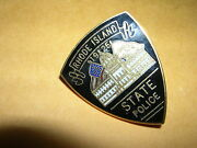 Rhode Island 1925 State Police 1 Metal Patch Hat Pin Tie Tac