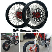 17and039and039 4.25and039and039 Roues Jantes Disque Support Pr Honda Crf 250 450 R 04-12 Cr125 02-07