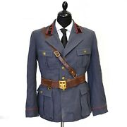 Parade Tunic Of Tank Troops Military Engineer 3 Ranks Of The Red Army Model 1935