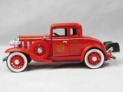 1932 Chevy Confederate Series Riverside Fire Dept Chief Fire Truck