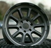 20 Black Rhino Chase Brushed Gunmetal Alloy Wheels Fit Ford Ranger Load Rated