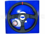 Sparco Steering Wheel - R383 Champion 330mm/39mm Dish/perforated Leather