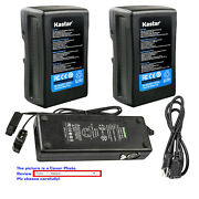 Kastar Battery Charger For Sony Pvm-9042qm / Pvm-9042qm With Dc-l10 Adapter