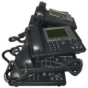 Lot Of 8 Assorted Cisco Ip Desk Phones 7942, 7942g, Cp-7942g Tested Warranty