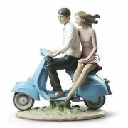 Lladro Riding With You Couple Figurine 01009231
