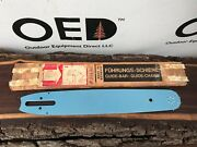Vintage 1950s Stihl Chainsaw Guide Bar - Nos New In Box - Rare - New Old Stock