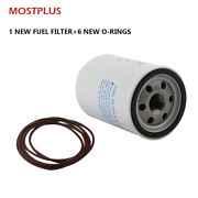 Electric Fuel Pump Filter + Six O-rings Fit For Volvo Penta 21608511 21545138
