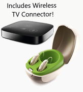 Pair Of Phonak Marvel M90 Rechargeable Telecoil Hearing Aids Free Tv Connector