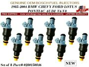 8x New Fuel Injectors Oem Bosch For 1989-1997 Ford Thunderbird 4.6l V8