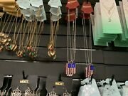 Lot Of 44 Fashion Jewelry Earrings Necklaces Chokers Wholesale Usa Seller New