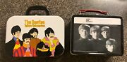 Lot Of 2 Beatles Lunch Box 1999 The Yellow Submarine And With The Beatles