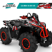 Can Am Brp Renegade Xmr 570 And 1000r With Snorkel Graphics Kit + Free Gift
