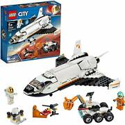 Lego City Space Mars Research Shuttle 273pc Building Kit Rover Astronaut Figures