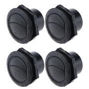 4pcs Universal 70mm 2.75 Inch Round A/c Air Outlet Vent For Rv Bus Boat Yacht