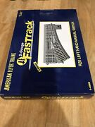 A3 American Flyer 49868 Fastrack R20 Lh Manual Switch S Gauge New