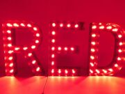 Polo Red Neon Sign Store Display Fragrance Section X3 Letters 32 H