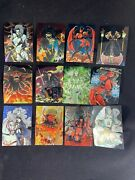 Lot Of 170 Lady Death Chromium Ii And Stickers 1995 Brian Pulido Chaos Comics