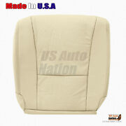 Fits 2007 To 2012 Lexus Ls 460 Driver Bottom Perforated Leather Seat Cover Tan