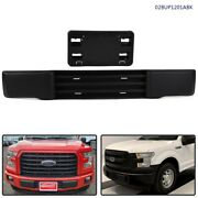 Replacement Front Bumper Trim And License Plate Fit For 2015 2016 2017 Ford F-150