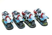 Warhammer Space Marines Mkiv Outrider Squadron With Plasma Guns Well Painted