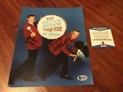 Tom Dick Smothers Brothers Signed 8x10 Photo Beckett Bas