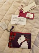 Leather Coin Purse By Mala Best Friends Collection Scotty Scottie Dog Gift