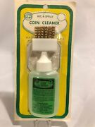 Nic A Spray For Silver And Gold Coins Kit Bottle Cleaner Solution + Brush And Holder