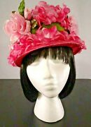 Vtg Women's Church Hat / Assorted Designs, Styles And Colors / Size 6 1/2 - 6 3/4