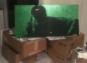 Tiger Woods Masters Champion Glitter 2019 24x48 Canvas + 25 Giftcard