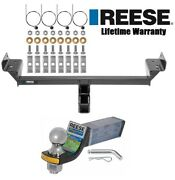 Reese Trailer Hitch For 15-19 Ford Edge 16-18 Lincoln Mkx W/ Ballmount And 2 Ball