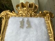 14k Gold Mickey Mouse And Minnie Mouse With Diamonds