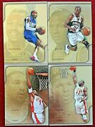 2003-04 Flair Collection Gold Allen Iverson Patch Anthony World Leaders Duncan