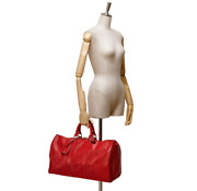 Louis Vuitton Epi Keepall 45 Duffel Bag Rrp4999 Red Gold Limited Edition