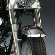 National Cycle Chrome Front Fender Tips Harley Davidson Fat Boy Lo/special 2012