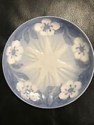 Bandg Bing And Grondahl 1898 Jule Aften Christmas Eve Flower And Star Plate