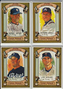 2007 Topps Allen And Ginter Dick Perez Sketch Card Lot - You Pick 10 From List