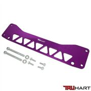 Truhart Rear Subframe Brace Anodized Purple For 01-05 Civic Incl. Si 02-06 Rsx