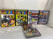 Dc Teen Titans Vol. 1/2 • 2nd/3rd Season New • Trouble In Tokyo Movie Lot New