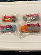 1994 Hot Wheels Gulf Oil Mail In Promo Set Of Four Cars