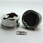 Dss Piston Set 1-4834-3700 3.700 Bore -13cc Dish 3v For Ford 46l Overbored