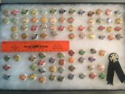 1917 - 1942 Pittsburgh Fire Department Fireman Labor Union Pin Collection 82