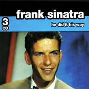 He Did It His Way - Frank Sinatra Cd New 2007