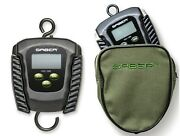 Saber Digital Folding Fishing Scale And Pouch Electronic Weigh Carp 110lb 50kg