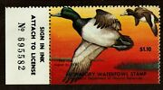 Maryland Md4 Md04 1977 Greater Scaup Mnh Free Shipping In The Usa
