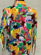 Robert Graham Mens Limited Editiion Shirt Spooky Sz M,just Released