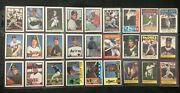 Baseball Collectors Album White W/ Stitches And 292 Cards Topps, Etc 90'-91' 33p'