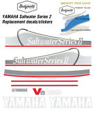 Yamaha 200hp Saltwater Series 2 Replacement Outboard Decals