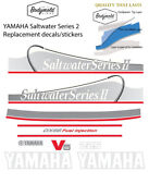Yamaha 225hp Saltwater Series 2 Ox66 Fuel Injected Replacement Outboard Decals