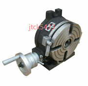 1pc New 3 Inches 75 Mm Quality Tilting Rotary Table For Milling Machines New