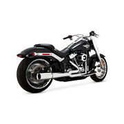 Vance And Hines 2-1 Pro-pipe Chrome For Harley Davidson Fatboy/breakout 18-20
